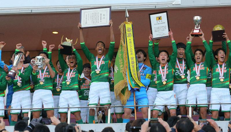 ワイズサポートチーム 青森山田高校サッカー部 第97回全国高校サッカー選手権優勝!